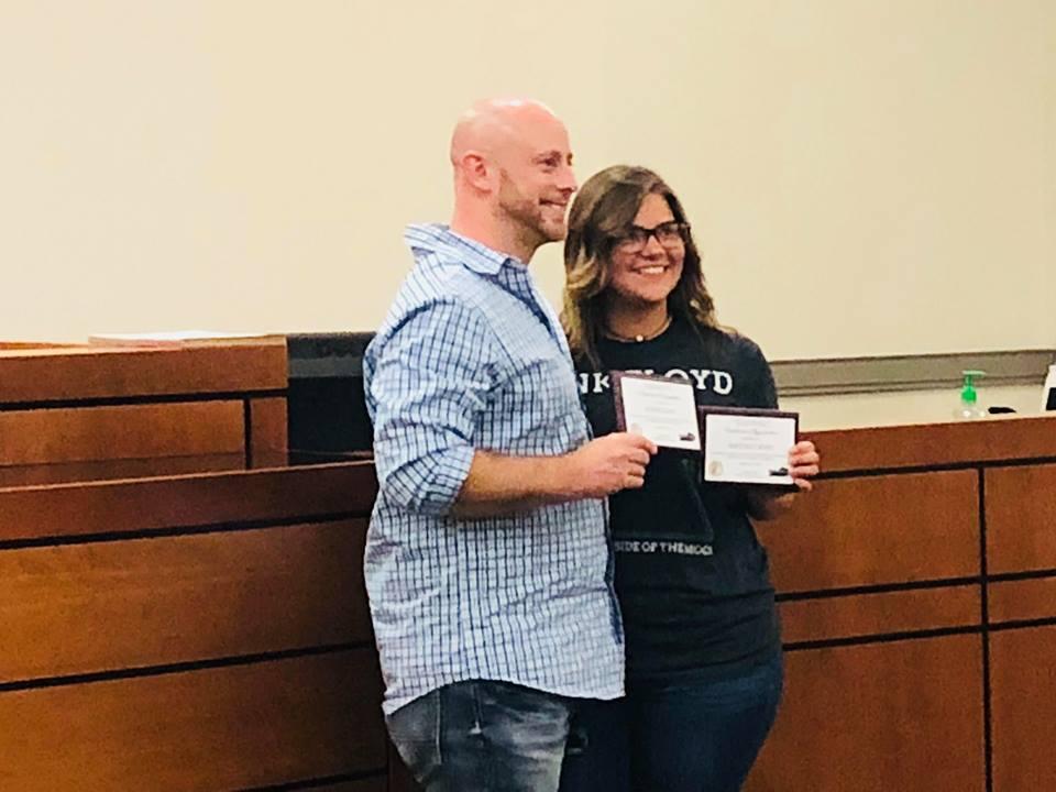 Two celebrate graduation from drug court program