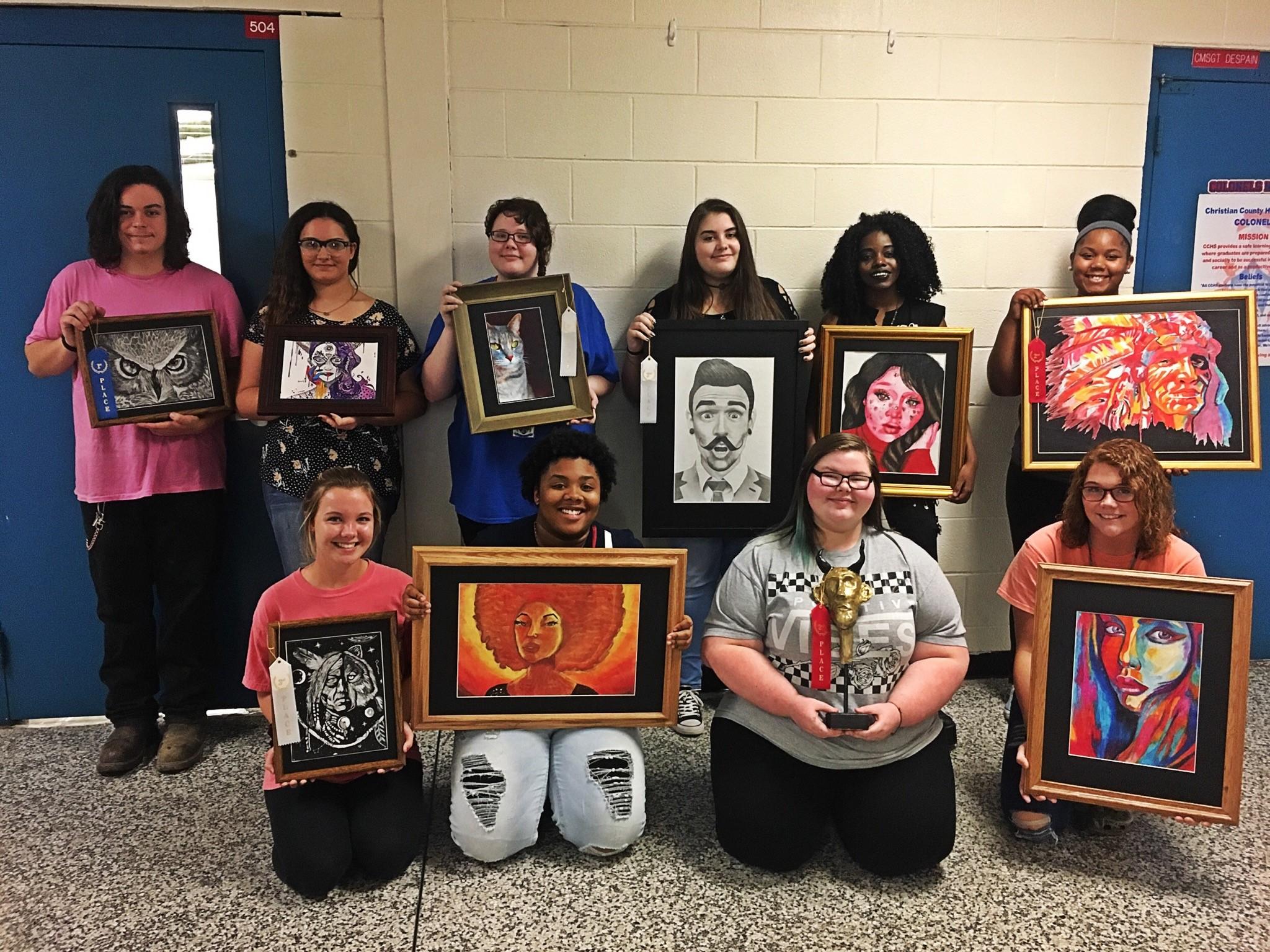 CCHS students excel at Riverfest Art Show