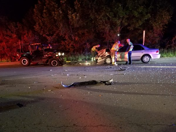 Multiple injuries in Clarksville accident