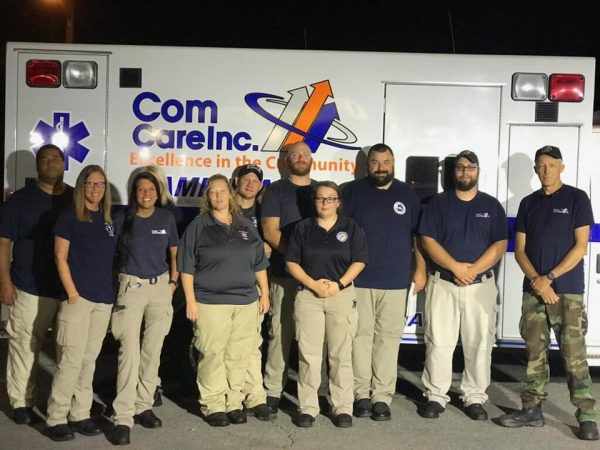 Local EMS crews in NC for Florence