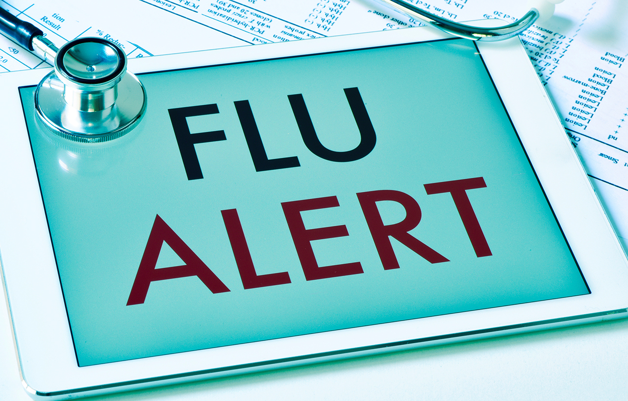 Flu level is 'sporadic' in Ky.