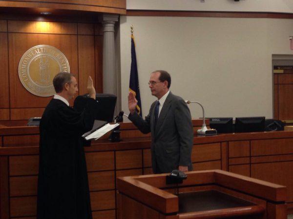 Soyars sworn in as county attorney