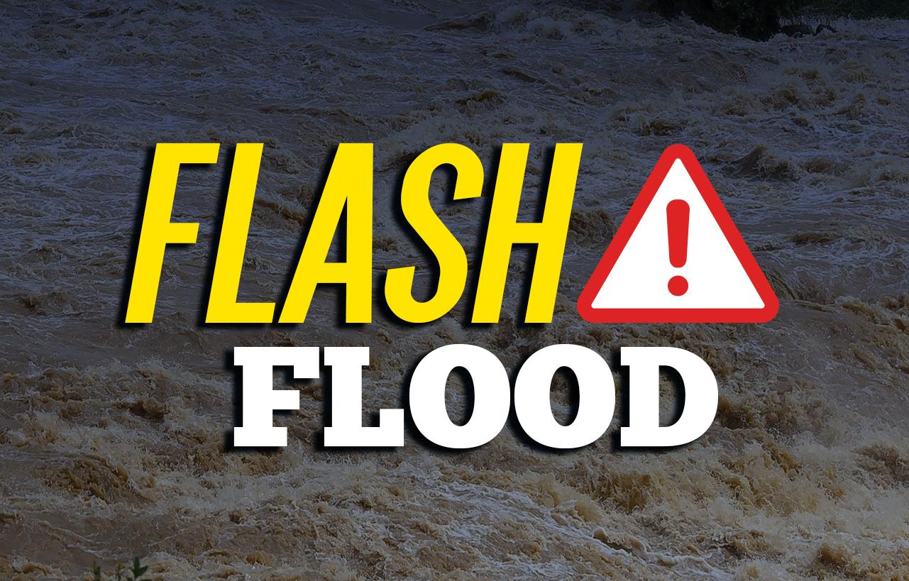 Flash Flood Watch through  7 p.m. Monday