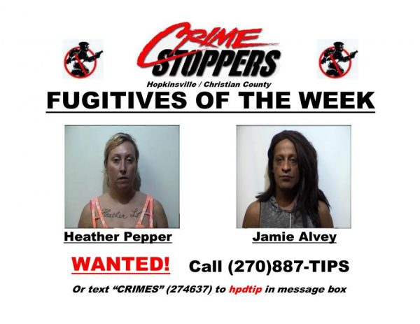 Crime Stoppers Fugitives of the Week 09/05