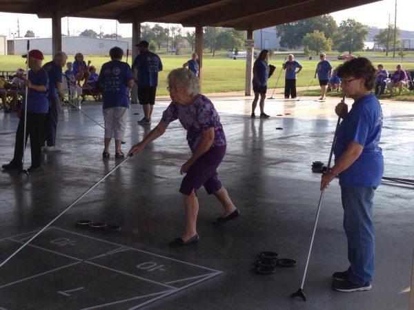 Senior Games draw 189 participants