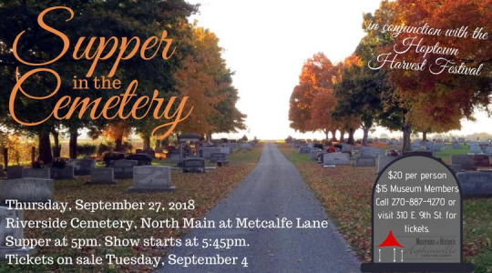 Supper in the Cemetery.