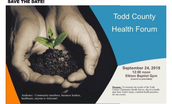 Todd Co. Health Dept. to host health forum, drive-thru flu shot clinic