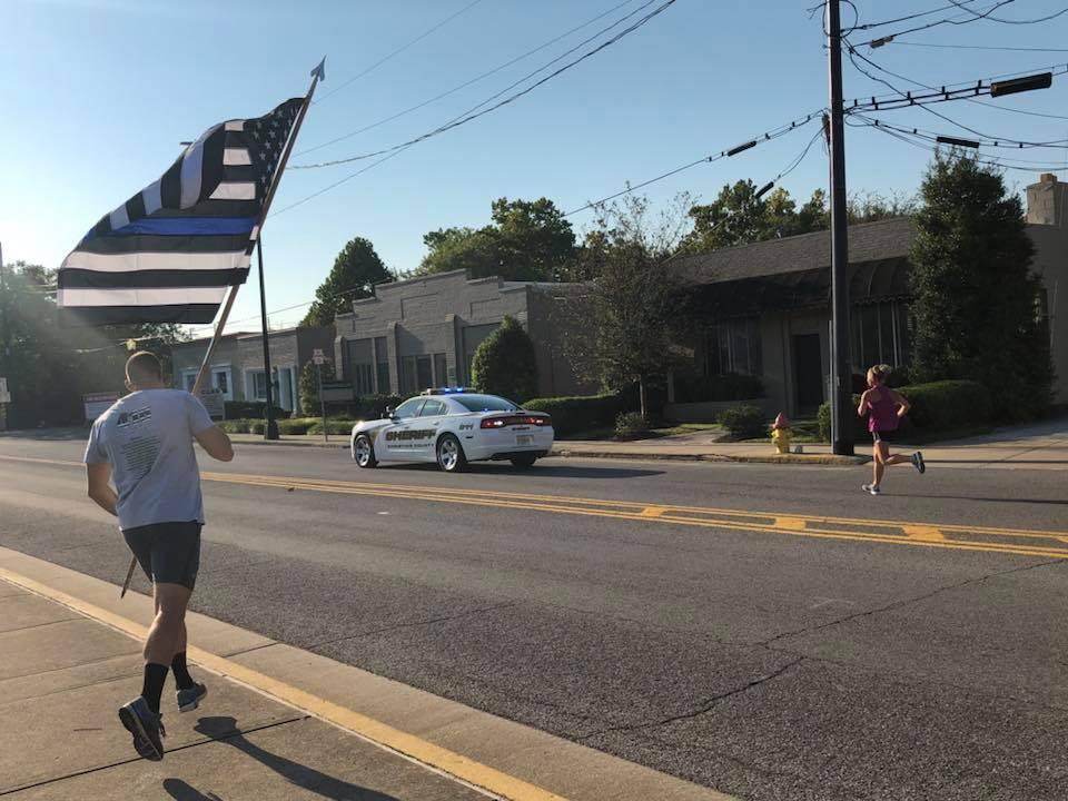 Community remembers Officer Phillip Meacham at Memorial Run