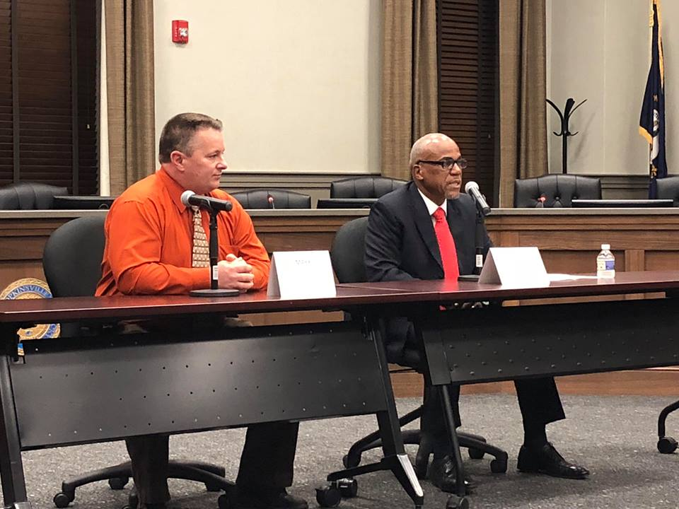 District 5 School Board incumbent, challenger face off