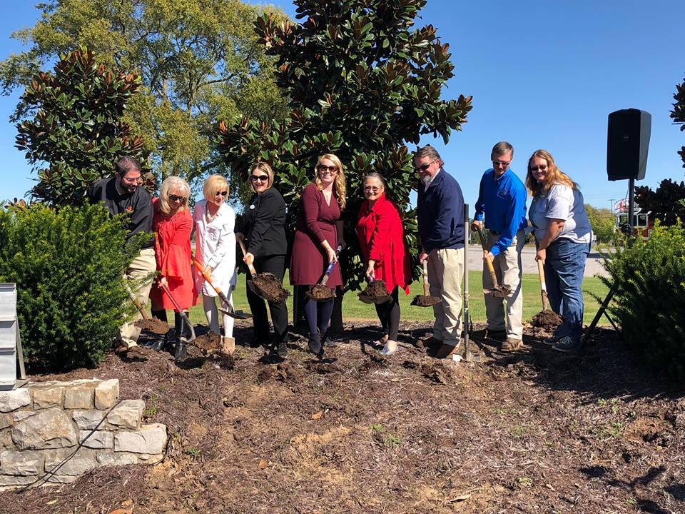 Ground broken for new sign, renaming at Gander Memorial Park