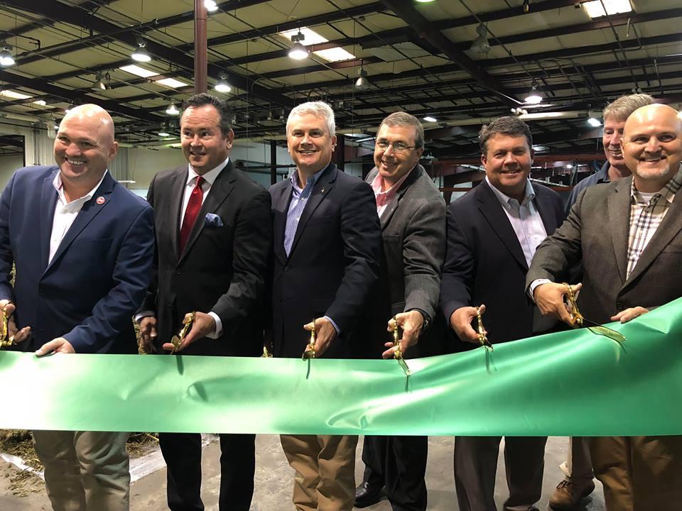 Ribbon cut for Trigg County hemp facility