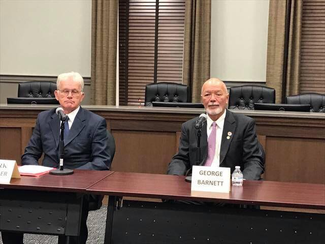 District 3 Magistrate candidates meet in debate