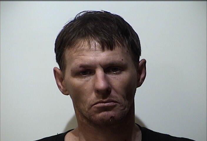 Pedestrian arrested for meth possession