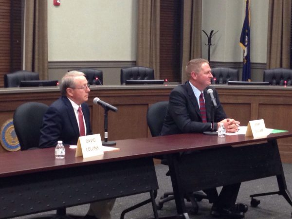 Collins, Gilliam debate in District 7 magistrate race