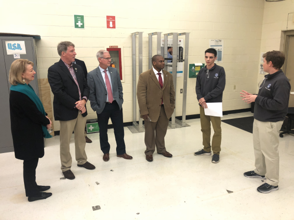 Education commissioner tours Gateway Academy