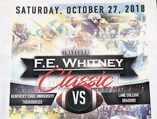 Game time changed for FE Whitney Football Classic