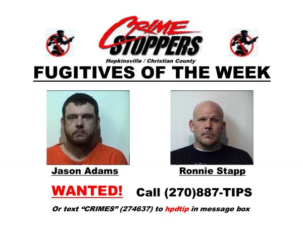 Crime Stoppers fugitives of the week 10/10/2018