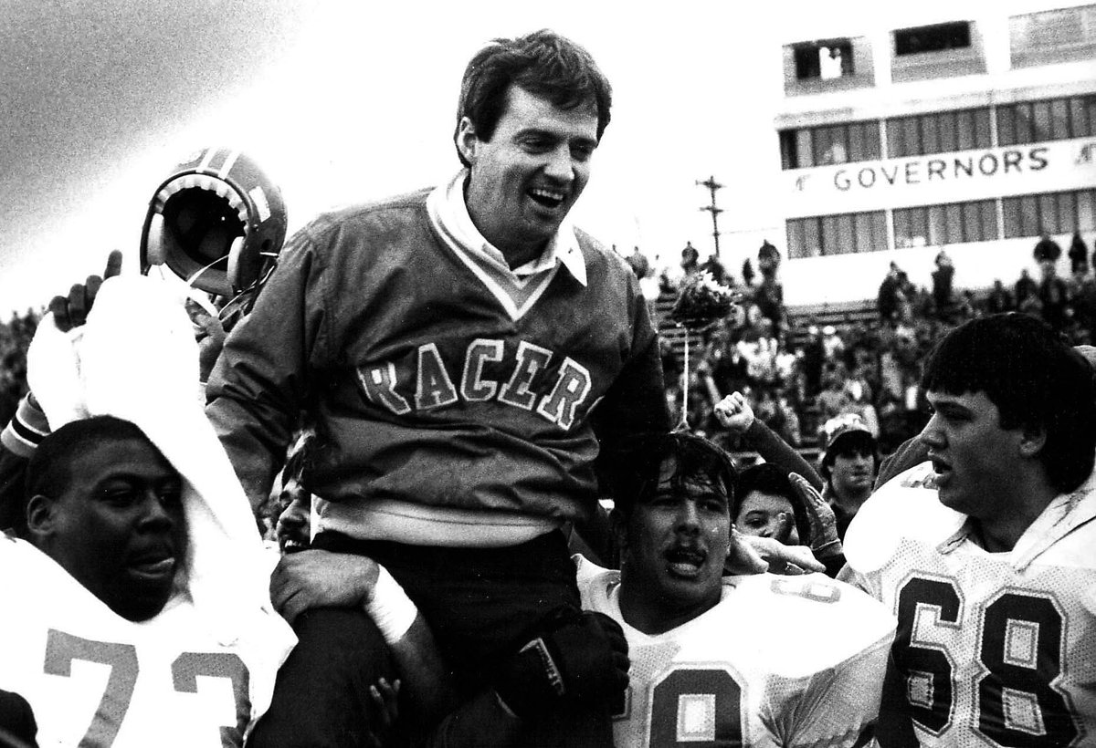 Former Racer Football Coach Beamer to be honored