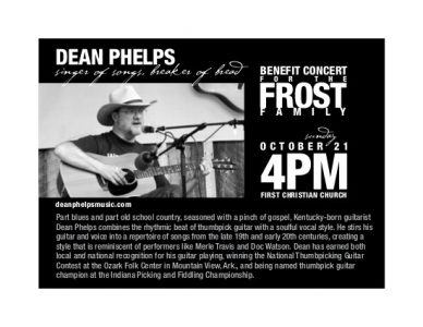 Frost Family Benefit Concert