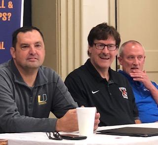 HS Basketball Coaches speak to Hopkinsville Rotary