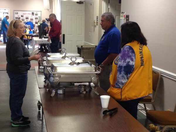 Community turns out to support Lions Club breakfast