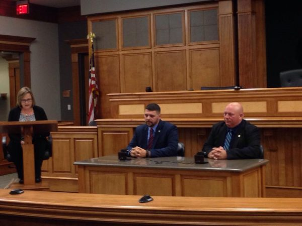 Candidates for offices in Todd County debate