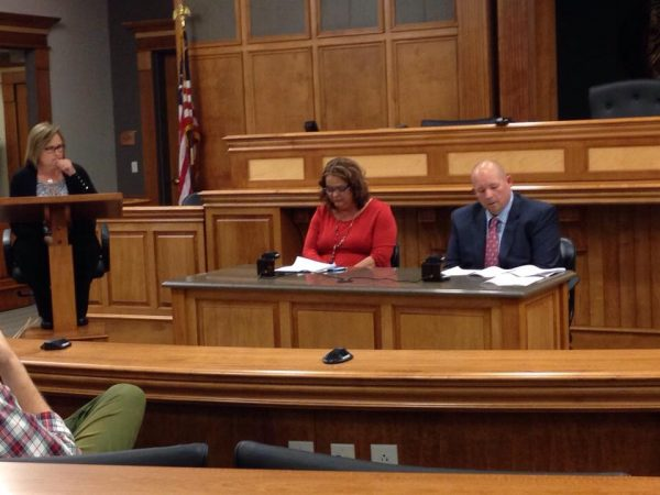 Candidates for Todd County Clerk debate