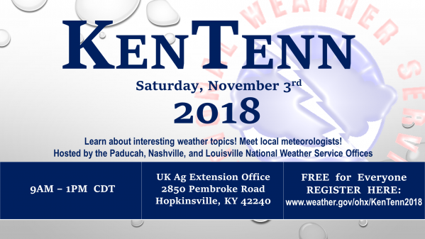 Weather workshop coming to Hopkinsville Nov. 3