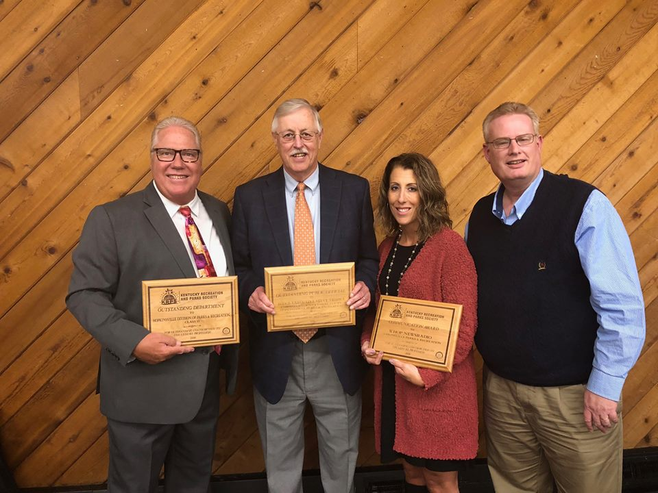 Parks and Recreation, WHOP, County Judge-Executive receive awards