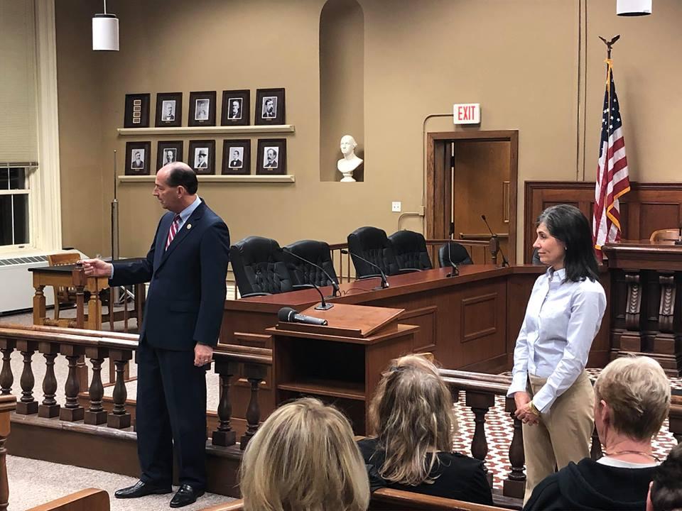 Rocky Adkins, gubernatorial candidate, visits Hopkinsville