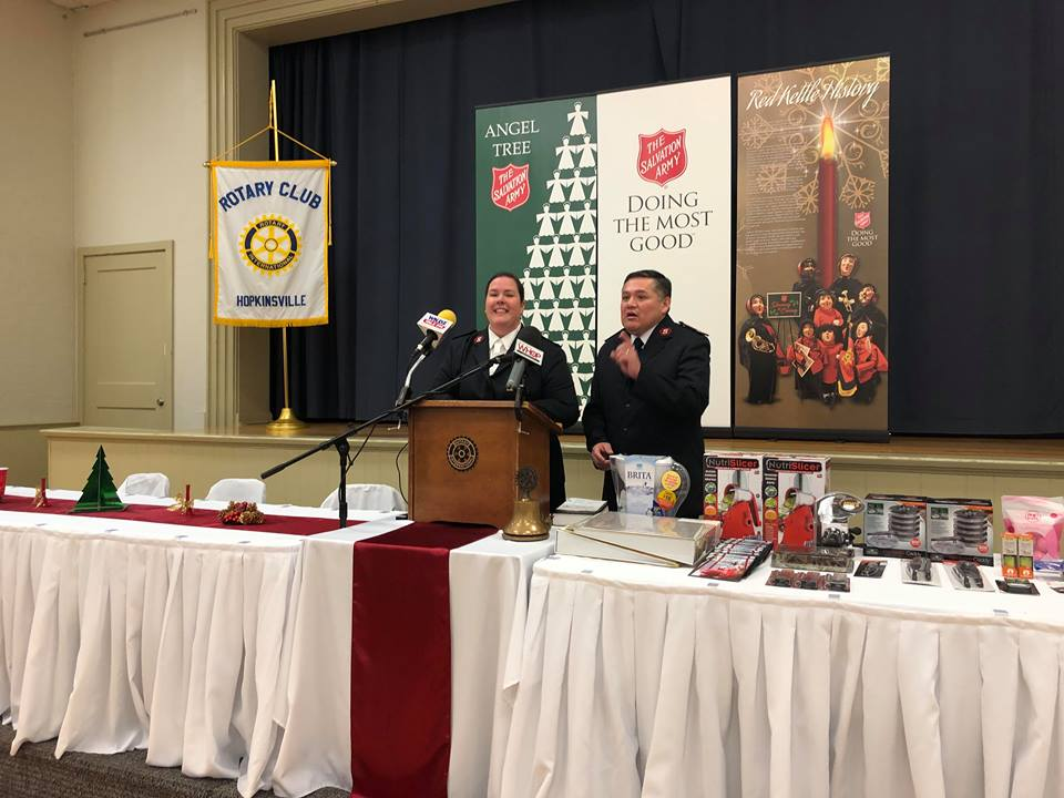 Salvation Army bell ringing campaign kicks off