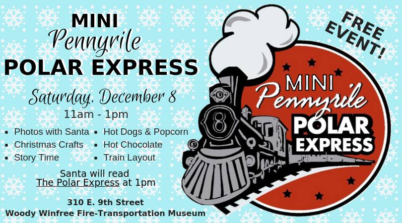 Pennyrile Polar Express coming up December 8