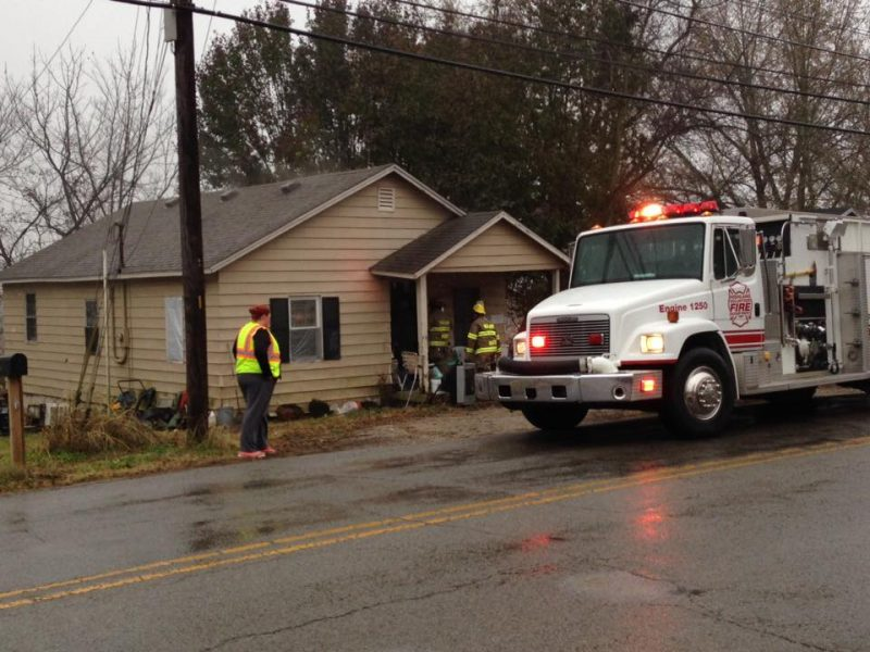 Space heater starts fire at Butler Road home