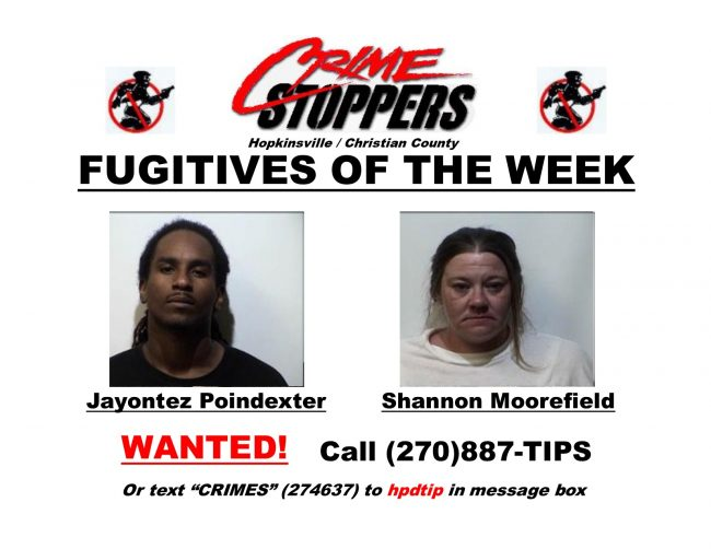 Crime Stoppers Fugitive of the Week
