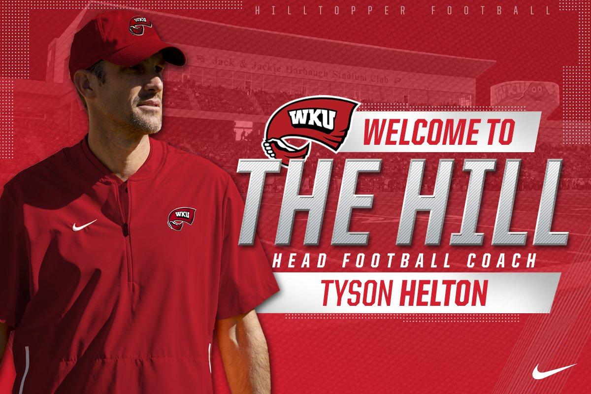 Helton named new WKU football coach