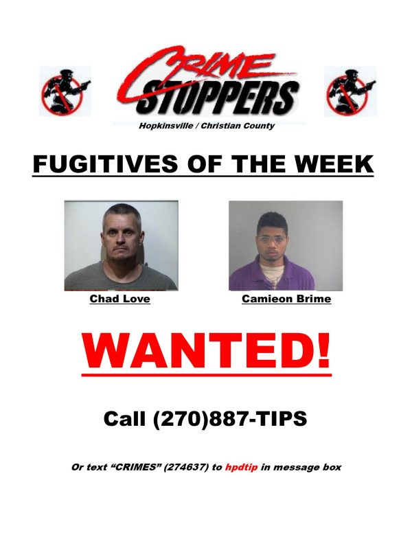 Crime Stoppers Fugitives of the Week 11/28