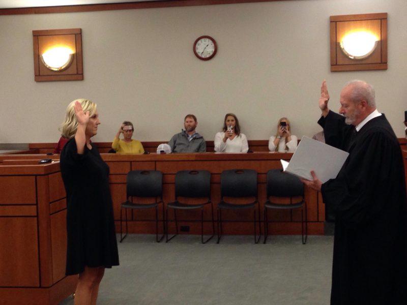 Paige Parker sworn in as Circuit Court Clerk