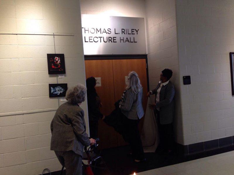 HCC, Rotary dedicate Thomas Riley Lecture Hall