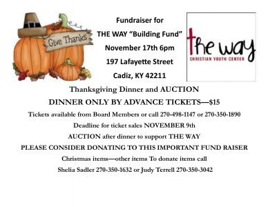 The Way Fundraiser