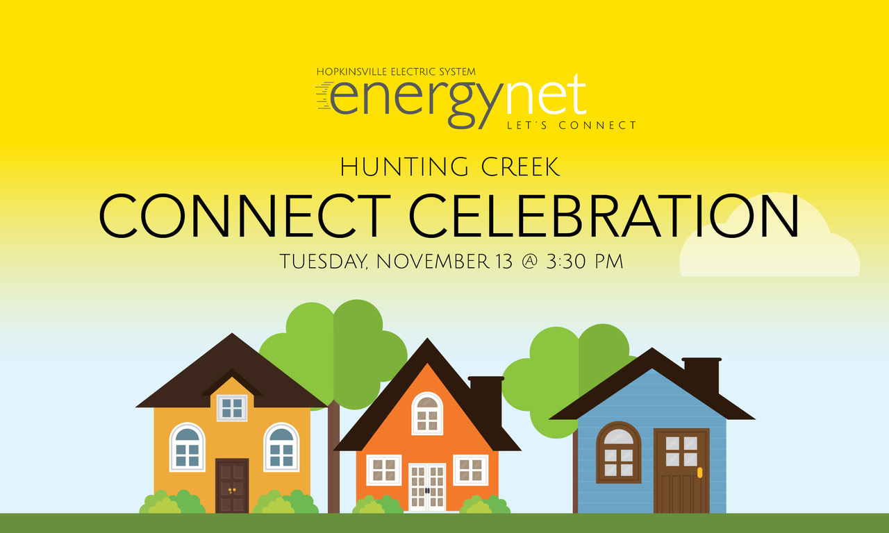 HES Energynet hosting Connect Celebration for Hunting Creek area