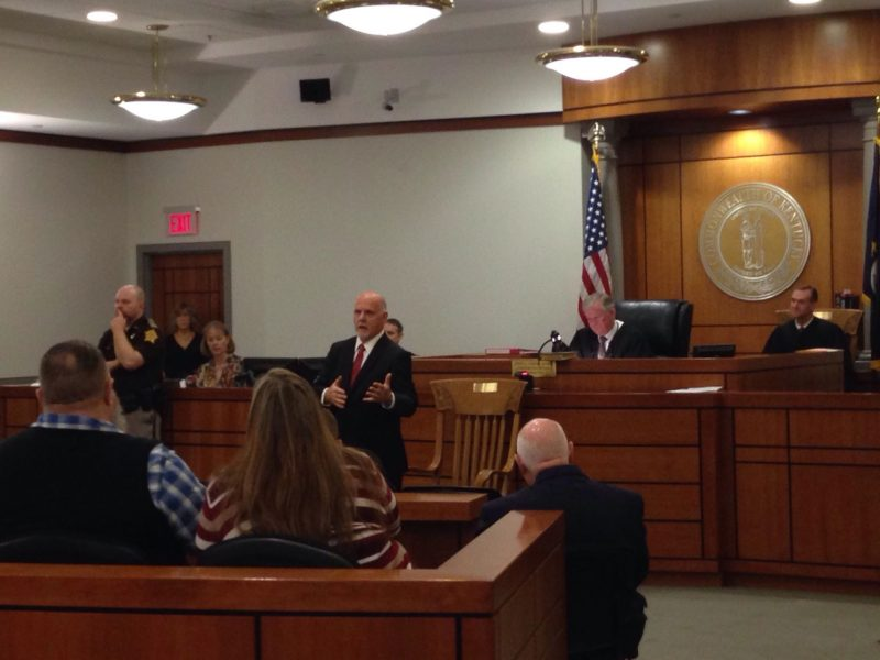 Memorial chair dedicated for longtime Friend of the Court