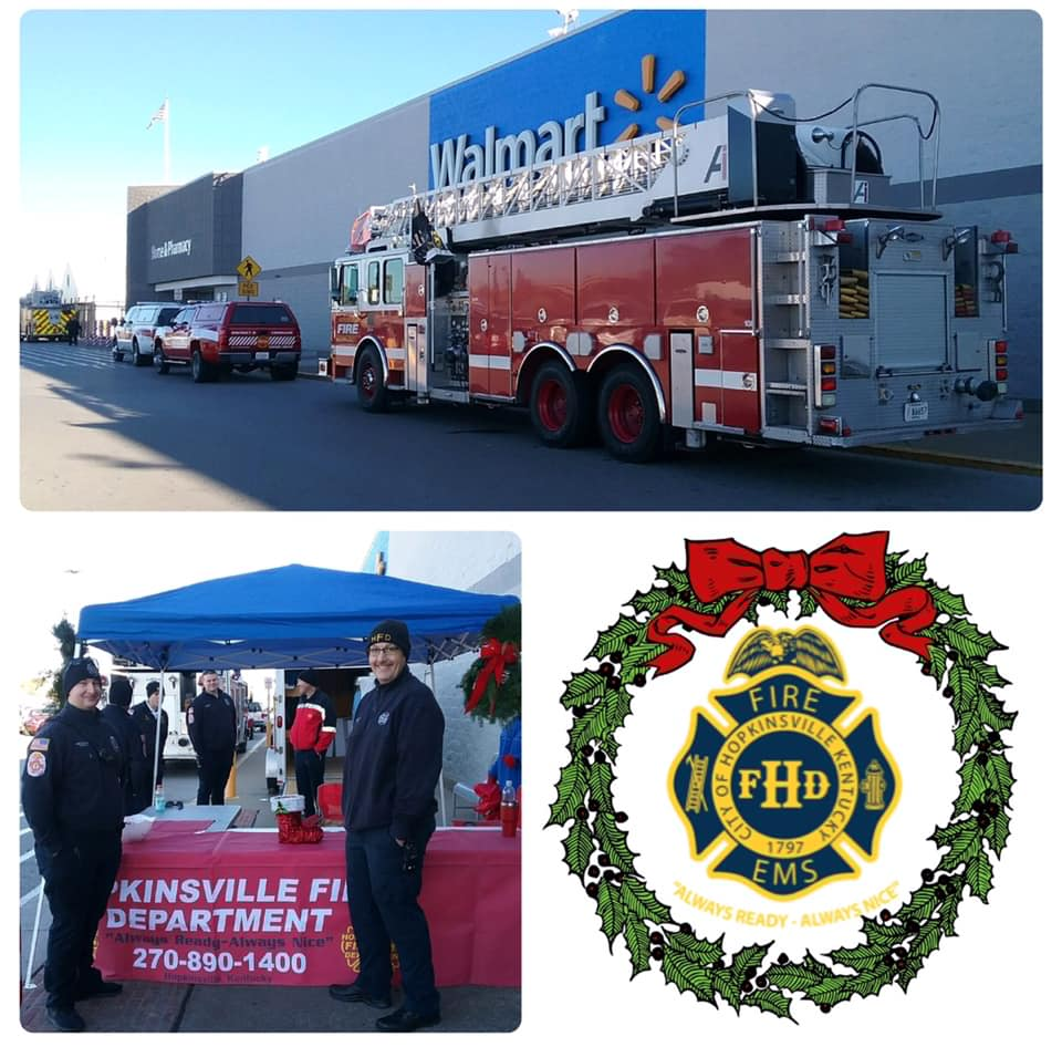 HFD to collect toys for kids at Walmart Friday, Saturday