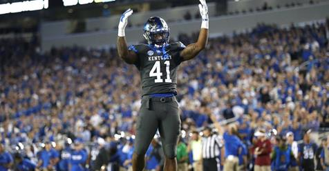 UK's Allen finalist for Butkus Award