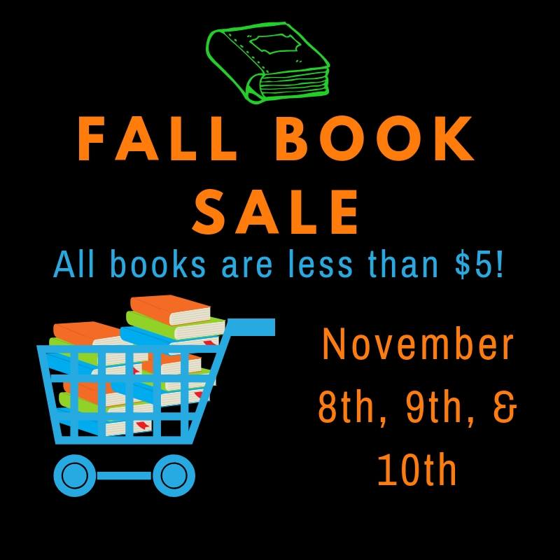 Local library hosting annual book sale this week