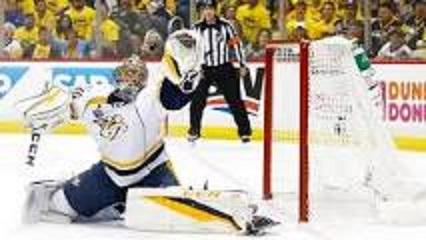 Rinne to start in goal for Nashville tonight at Tampa Bay