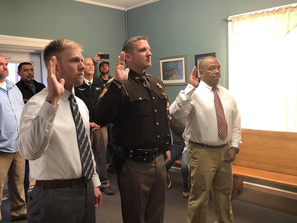 DeArmond sworn in as Christian County Sheriff