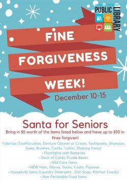 Fine Forgiveness Week