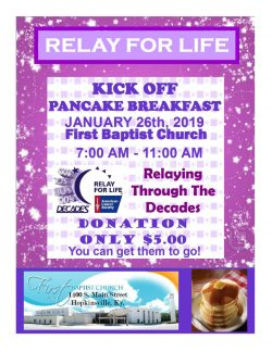 Kick Off Pancake Breakfast