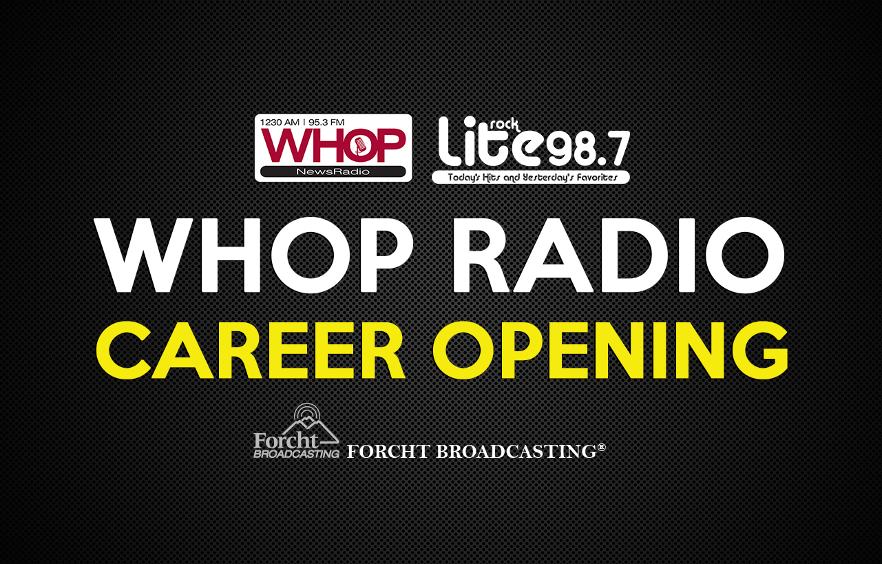 WHOP Job Opening - Advertising Professional
