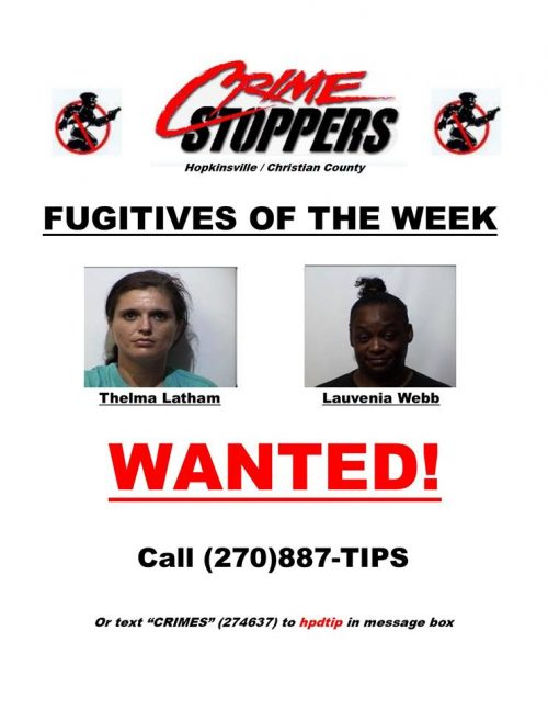 Crime Stoppers Fugitives of the Week 01/09